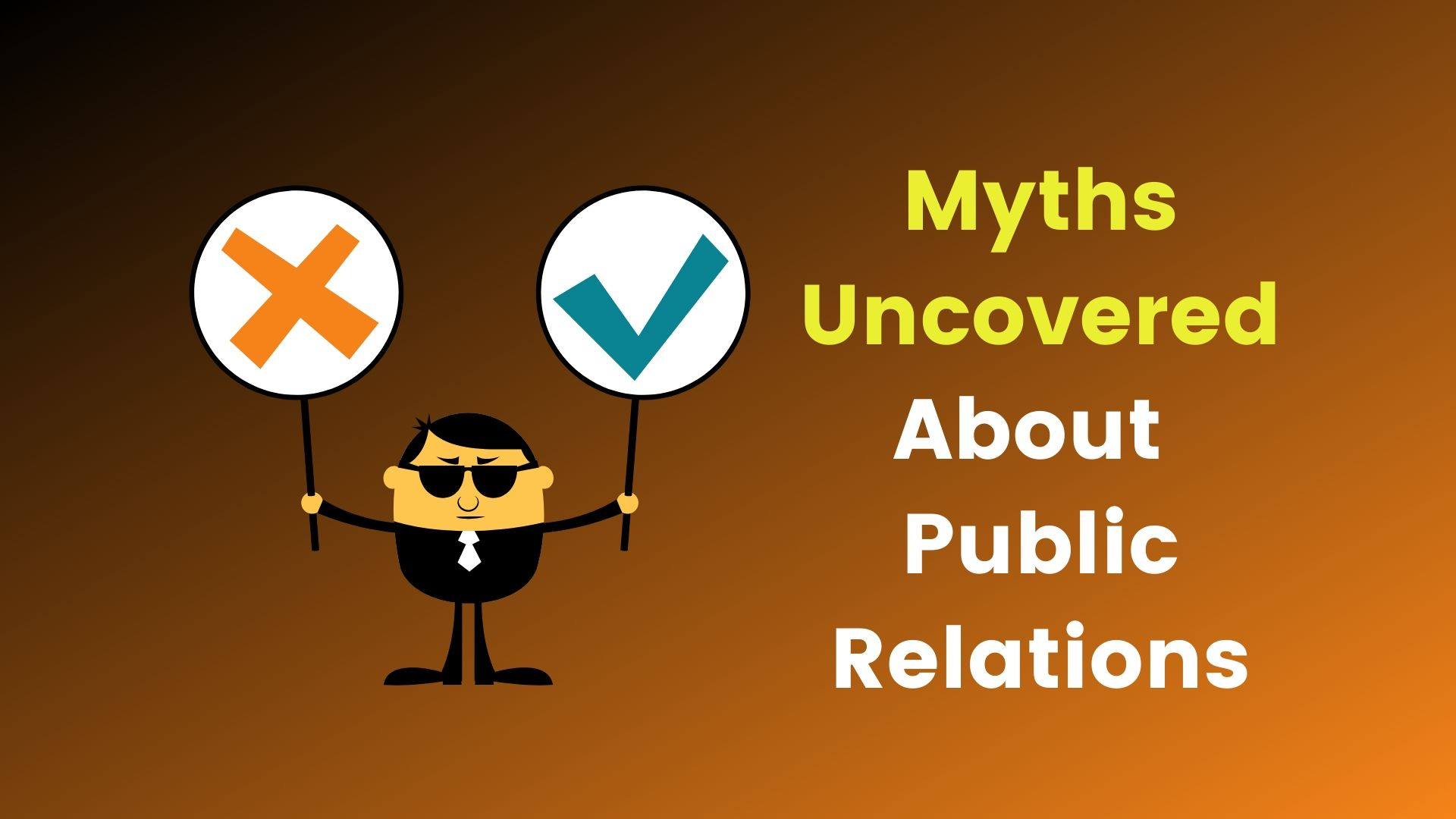 myths about public Relations